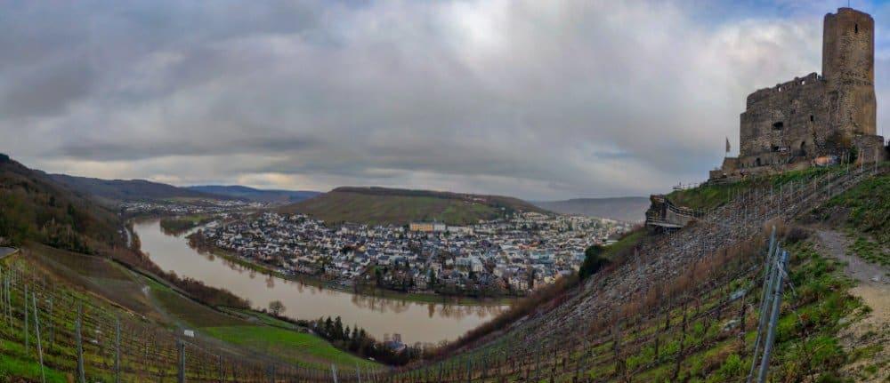 Burg Landshut und die Mosel