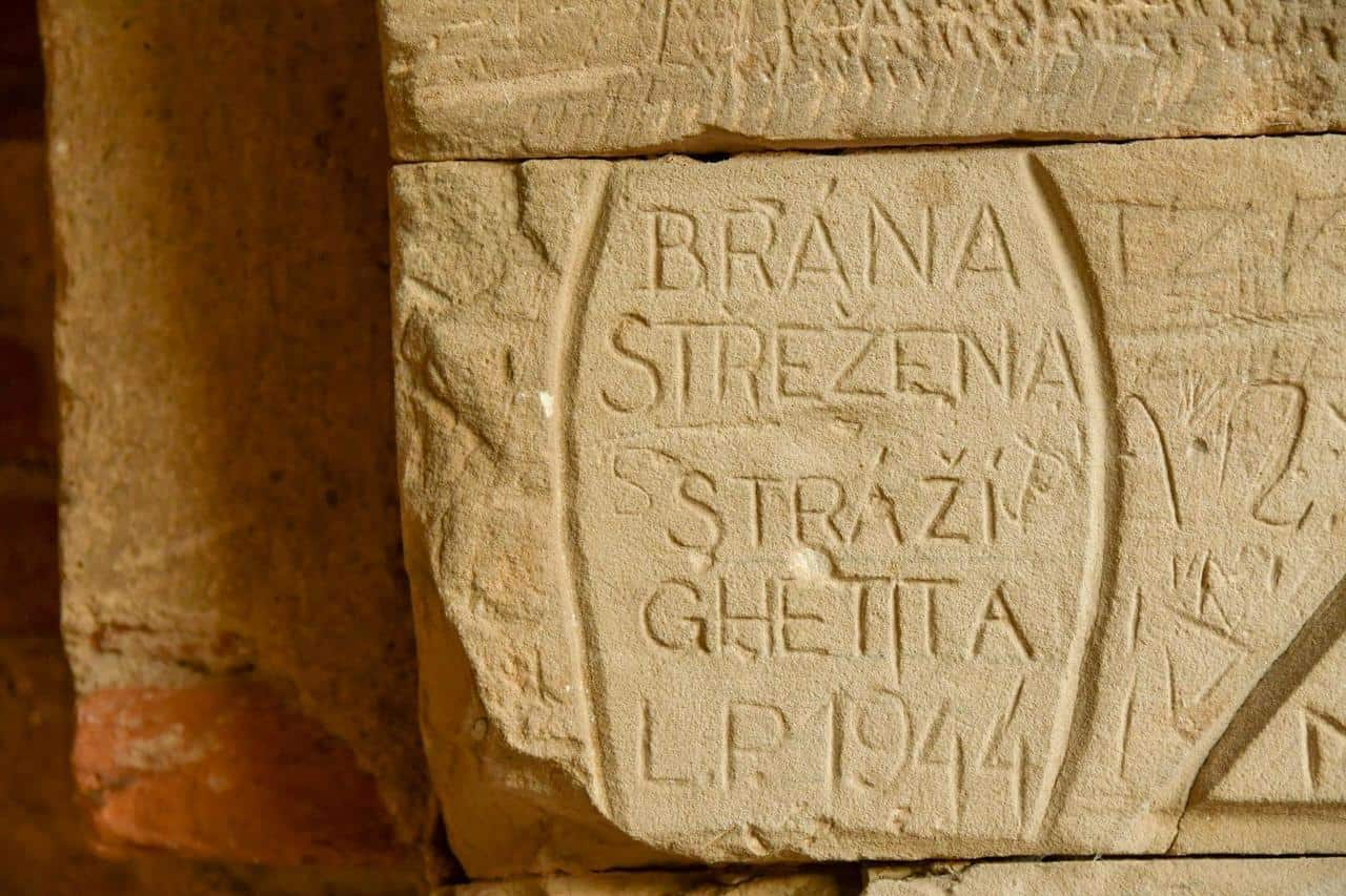 Inschriften aus der Zeit der Judenverfolgung