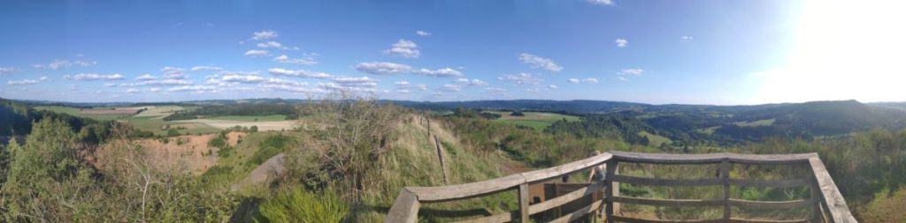 Panorama vom Rother Kopf