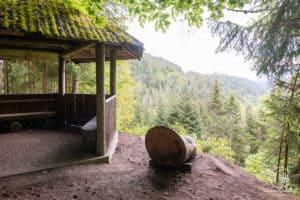 Die Berghütte am Teinacher