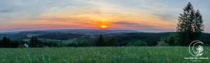 Sonnenuntergang bei Wilde Wiese