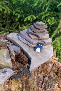 Dem Pinguin ist es zu warm
