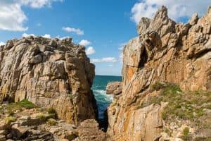 Bretagne - le gouffre bei Tag
