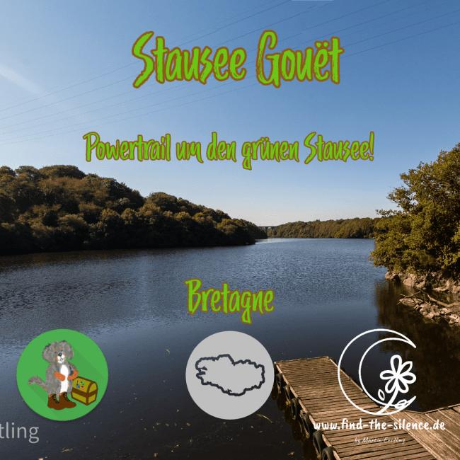Wunderbare Geocaching-Tour um den Stausee Gouet