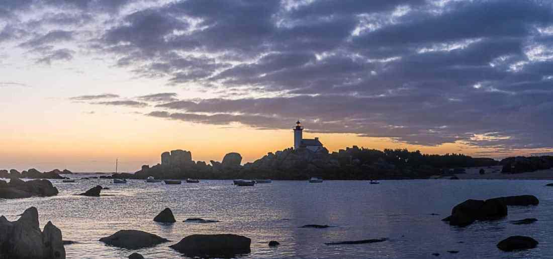 Panorama über die Bucht