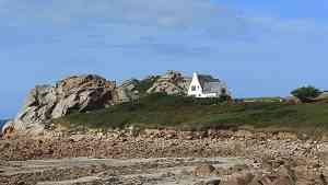 Auch ein Haus am Felsen