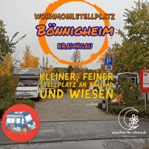 Stellplatz Bönnigheim - kleiner, feiner Stellplatz