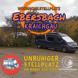 Wohnmobilstellplatz Ebersbach
