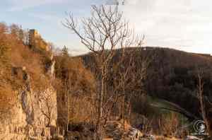 Die Ruine vom Nachbarfelsen