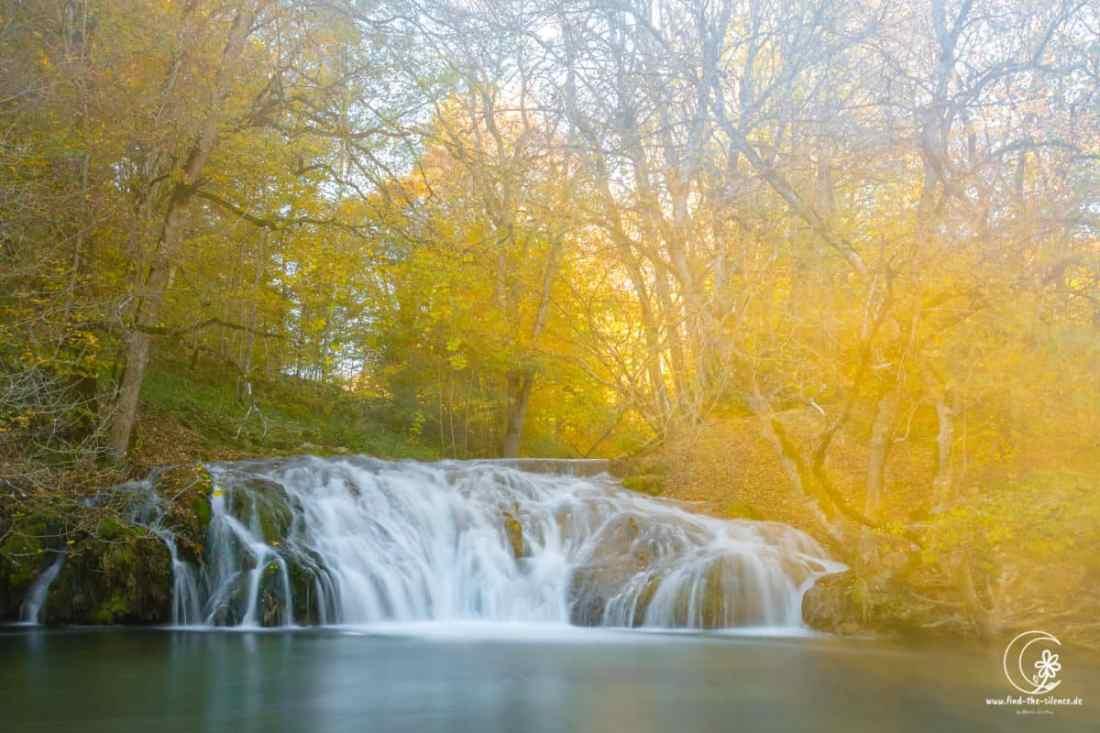 My autumn waterfall