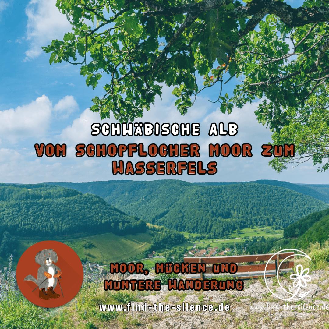 Vom Schopflocher Moor zum Wasserfels