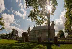 Berzgale - eine der ältesten Holzkirchen Lettlands