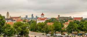 Blick über Vilnius