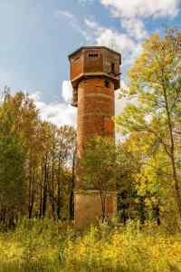 Der Wasserturm von Viivikonna
