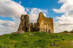 Einst stolze Burg - heute Ruine