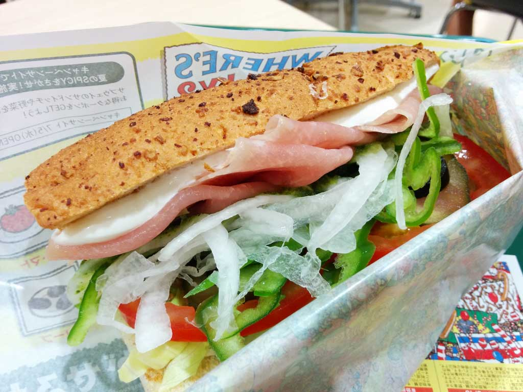 sandwiches from Subway