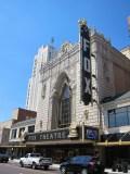 Outside the Fox Theatre