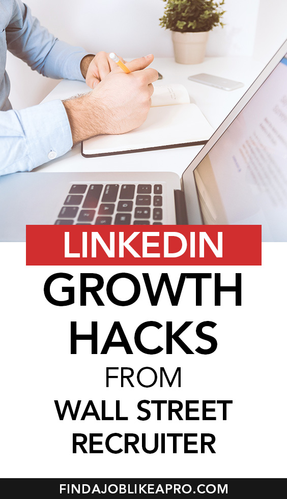 LinkedIn Growth Hacks from Wallstreet Recruiter