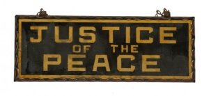 Justic of the Peace early 20th