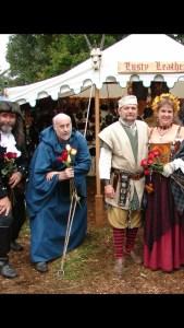 Renaissance wedding day