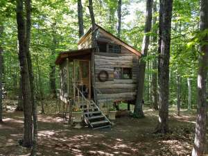 Come and stay at our tree house: Tree House at the Shire on Airbnb in Conway, NH