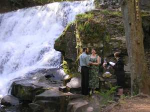 My very first wedding, Rockfalls