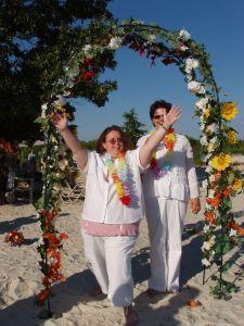 Brides at my beach