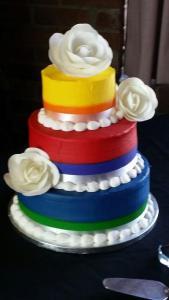 A beautiful cake!