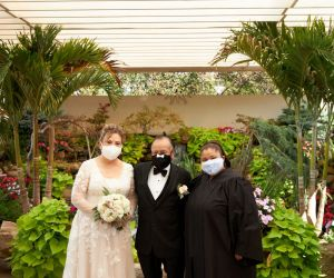 Jose & Ester - Even in a Pandemic, we can have a beautiful small family gathering