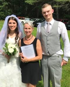 Beautiful backyard wedding!