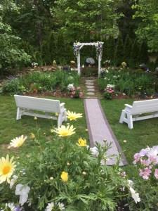 Wedding Garden Late spring.
