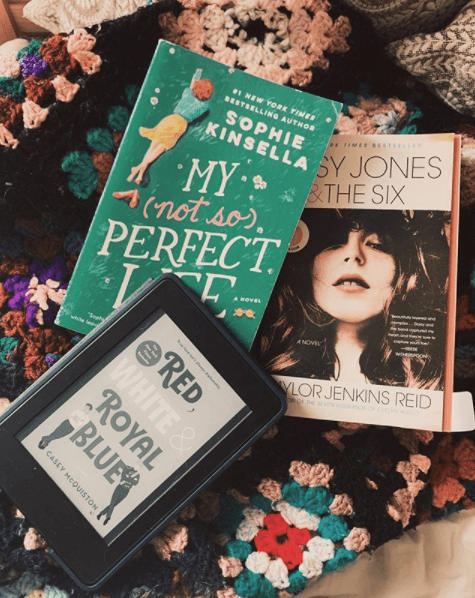 three books for find a lovely book club