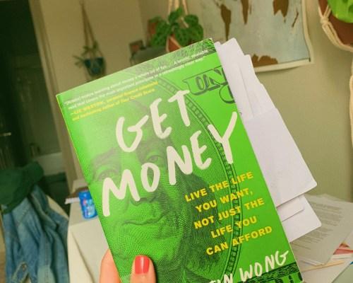 get money header