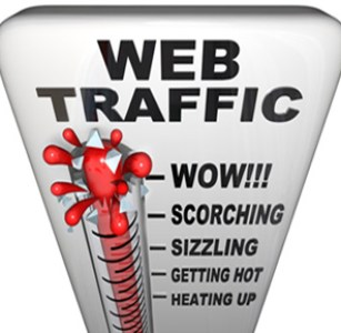 Web traffic image