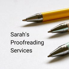 Sarah's Proofreading Services (1)