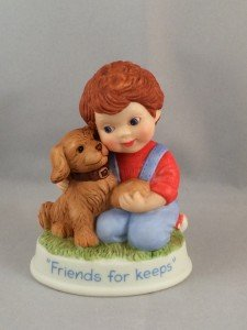 1991 Avon Friends for Keeps Figurine