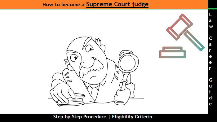 How to become a Supreme Court judge