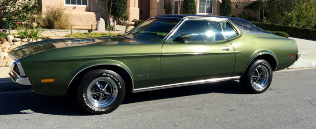 1972 Ford Coupe Mustang