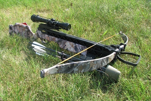 Excalibur Crossbow On Grass