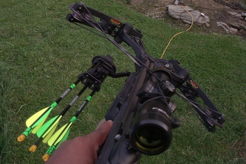 Shooting With Barnnett Ghost 410 Crossbow