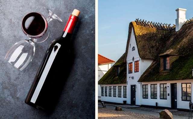 Kro- og hotelophold med vin for 2 Image