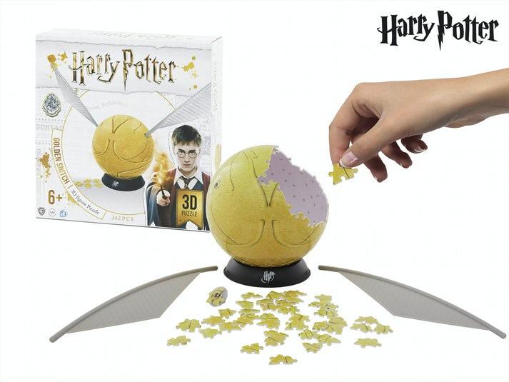 Harry Potter Golden Snitch Puslespilbold Image