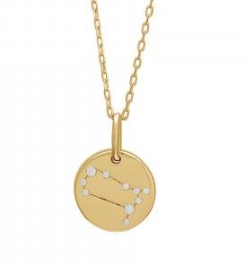 Halskæde med stjernetegn Image