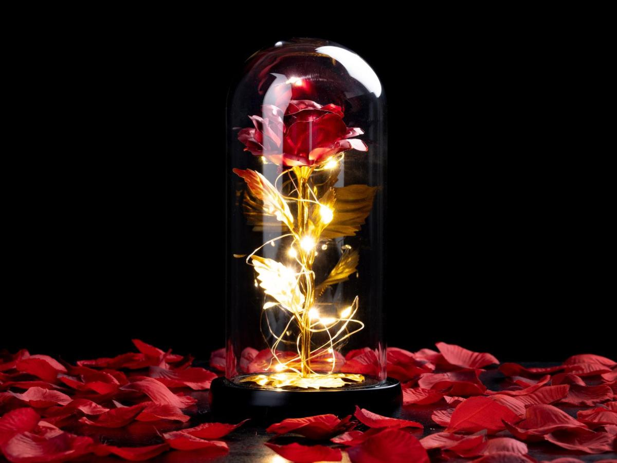 Spralla® Fortryllet Rose Lampe Image