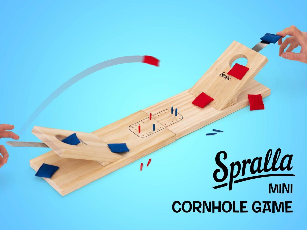 Spralla® Mini Cornhole Game Image