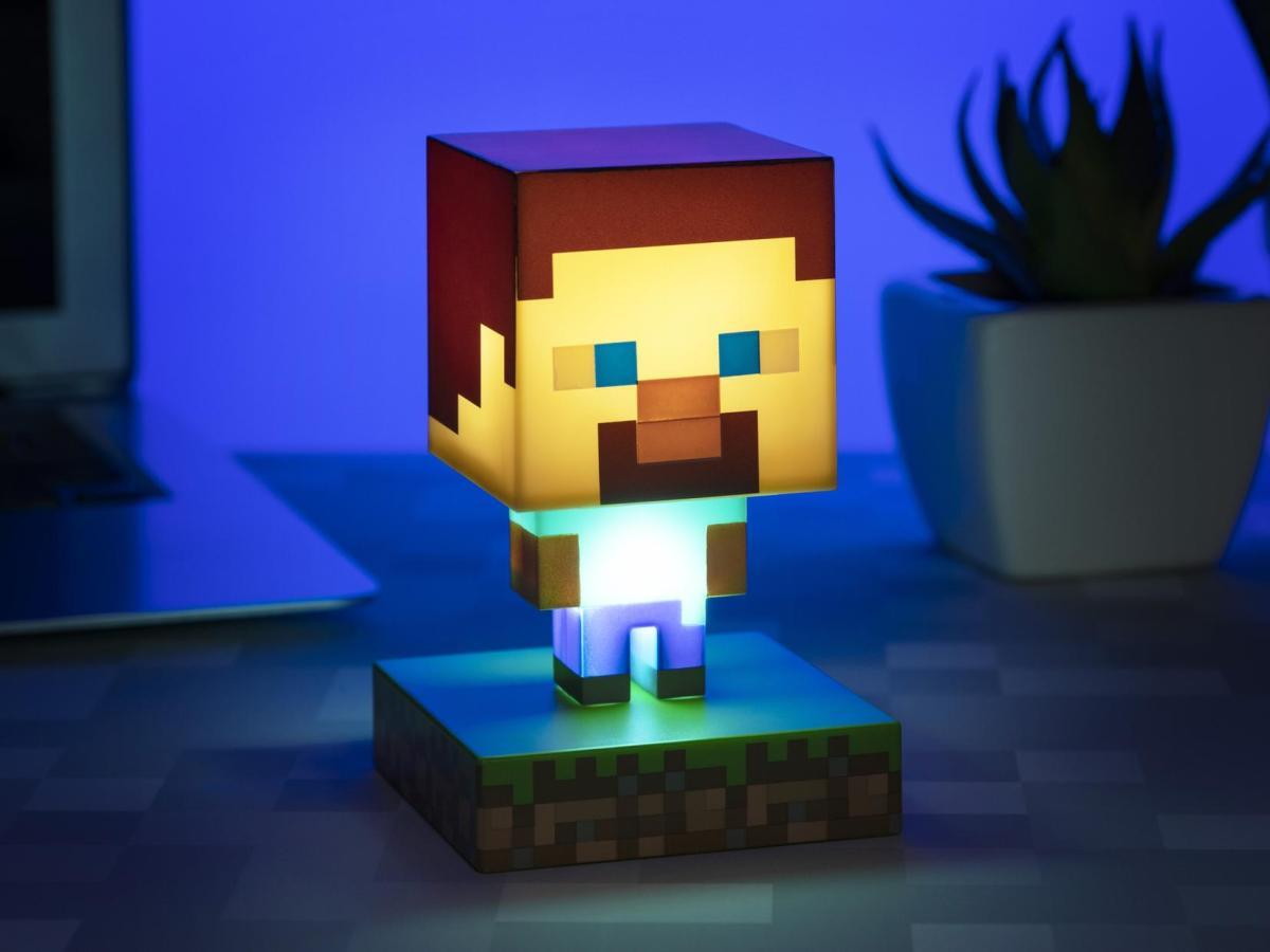 Minecraft Lampe Steve Image