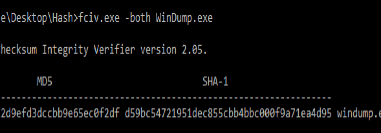 Windump (back to basics)