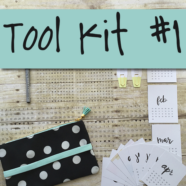Tool Kit #1 Planner Pops Product