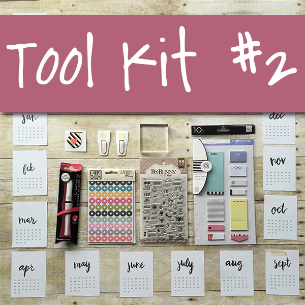 Tool Kit #2 Planner Pops Product