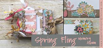 Spring Fling Memory Album Mailchimp